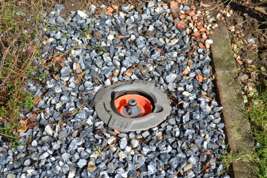 Gartenbewässerung Garten Ventilkasten mit 3//4 zoll Kugelhahn Ventilbox