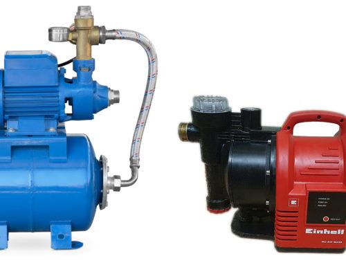 Was sind Hauswasserautomat und Hauswasserwerk und wann braucht man diese?