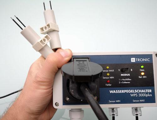 Wasserpegelschalter H-Tronic WP 3000 plus im Test